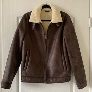 Devred Bomber Jacket with fear fur lining/collar